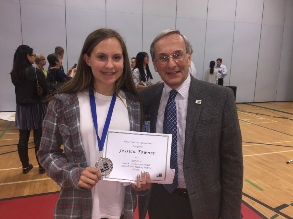 Certificate for Jessica